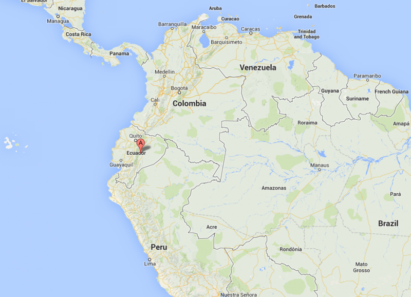 Featured User In May Is Chris Canaday From California - Where is ecuador located