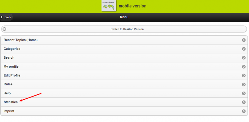 We have a mobile version of the forum for smartphones and tablets